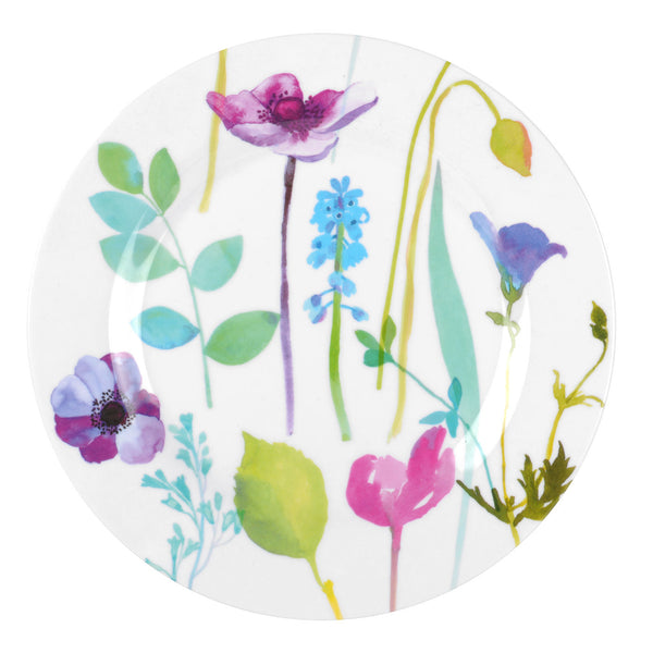 Portmeirion Water Garden Melamine Salad Plate 20cm (Set of 4)