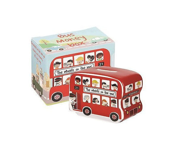 Churchill China Wheels On The Bus Money Box