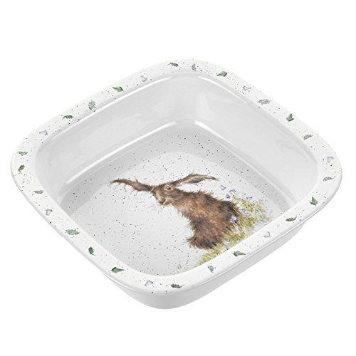 Royal Worcester Hare Square Dish 25.5cm