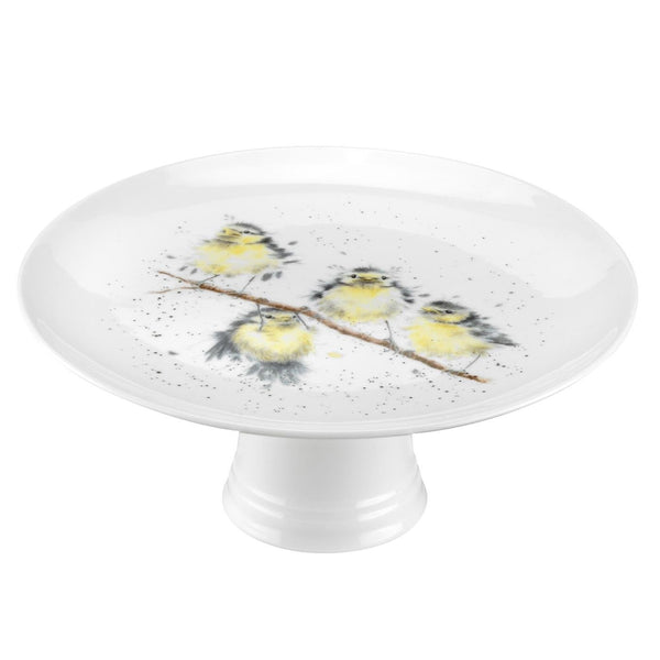 Royal Worcester Wrendale Designs Birds Cake Stand 25cm
