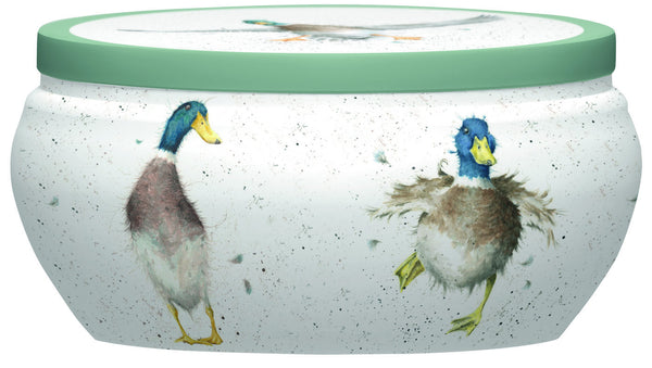 Royal Worcester Wrendale Fragrance Warm and Whimsical Guard Duck Tin Candle