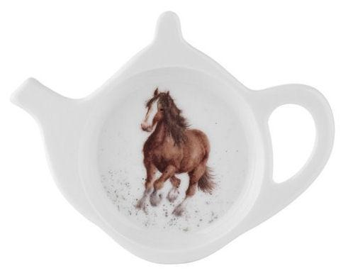 Royal Worcester Wrendale Designs Gigi Horse Teabag Tidy