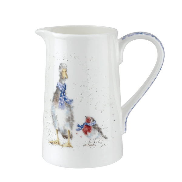 Royal Worcester Wrendale Designs Duck and Robin Jug 0.60L
