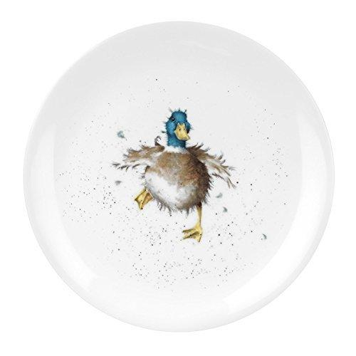 Royal Worcester Waddle And A Quack Coupe Plate 20cm
