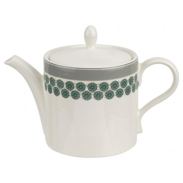 Portmeirion Westerly Grey Teapot 2Pt / 1.13L