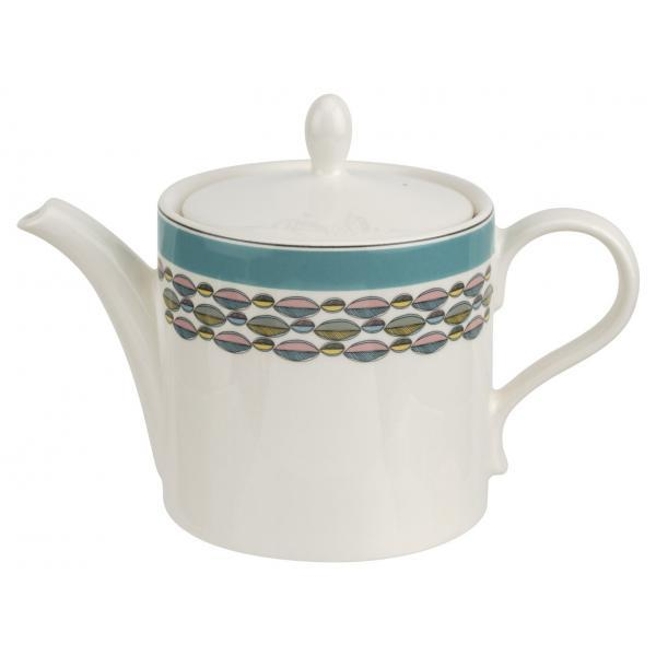 Portmeirion Westerly Turquoise Teapot 2Pt / 1.13L