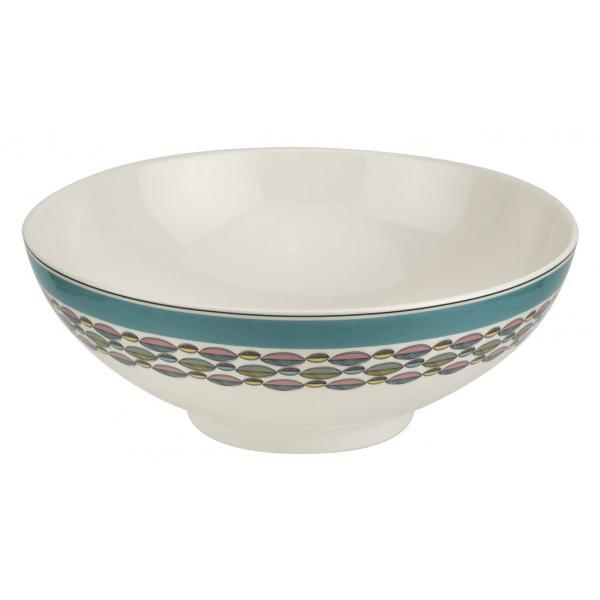 "Portmeirion Westerly Turquoise Deep Bowl 9.5""/ 24cm"