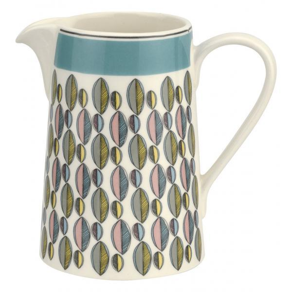 Portmeirion Westerly Turquoise Cream Jug 10Oz 0.30L