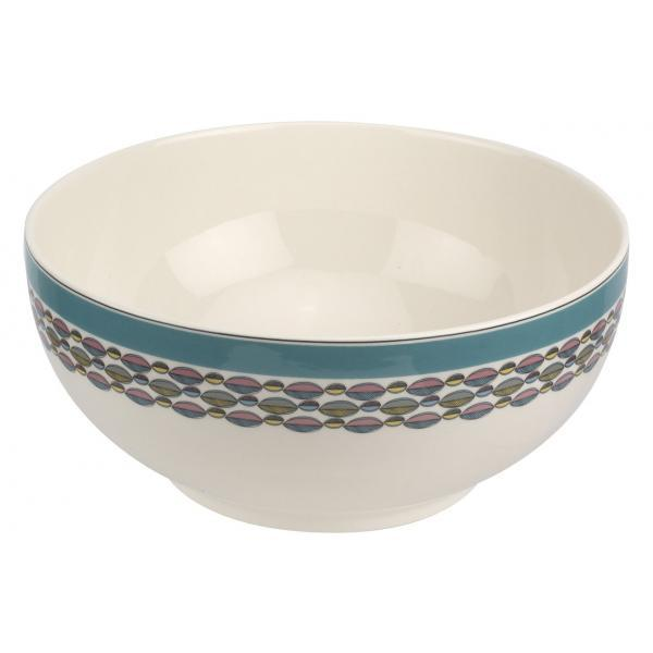 "Portmeirion Westerly Turquoise Deep Bowl 10.75""/ 27cm"