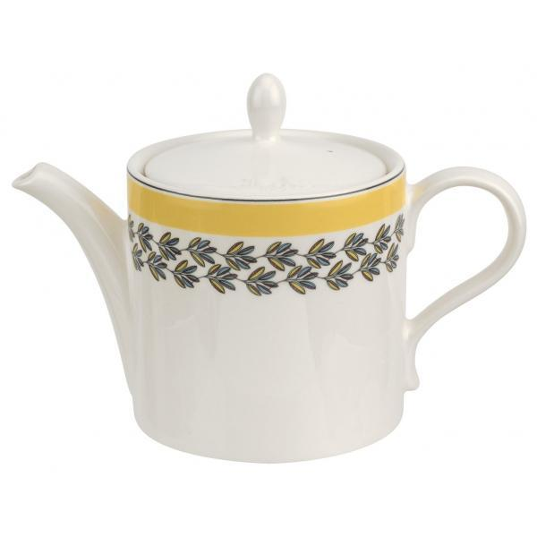 Portmeirion Westerly Yellow Teapot 2Pt / 1.13L