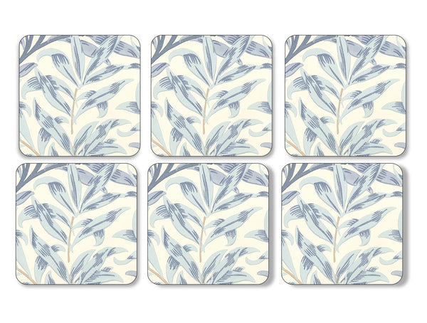 Pimpernel Willow Bough Blue Coasters 10.5cm (Set of 6)