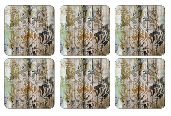 Pimpernel Frozen in Time Coasters 10.5 by 10.5cm (Set of 6)