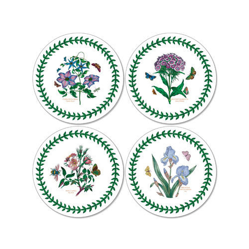 Portmeirion Botanic Garden Round Coasters 10.5cm (Set of 4)