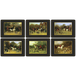 Pimpernel Tally Ho Placemats 30.5cm By 23cm (Set Of 6)