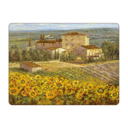 Pimpernel Tuscany Placemats 30.5cm By 23cm (Set Of 6)