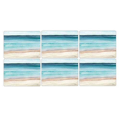 Pimpernel Coastal Shore Placemats 30.5 by 23cm (Set of 6)