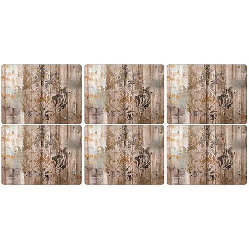 Pimpernel Frozen in Time Placemats 30.5 by 23cm (Set of 6)