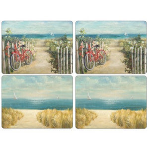 Pimpernel Summer Ride Placemats 40.1cm By 29.8cm (Set Of 4)