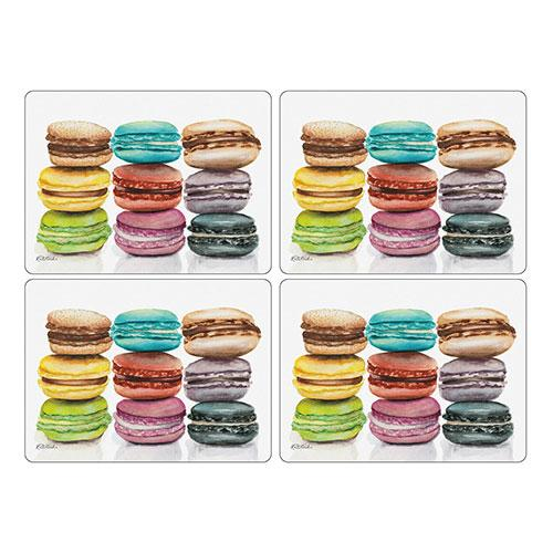 Pimpernel Macarons Placemats 40.1 by 29cm (Set of 4)