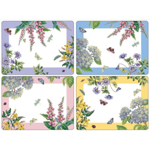 Pimpernel Botanic Garden Placemats 40.1 by 29cm (Set of 4)