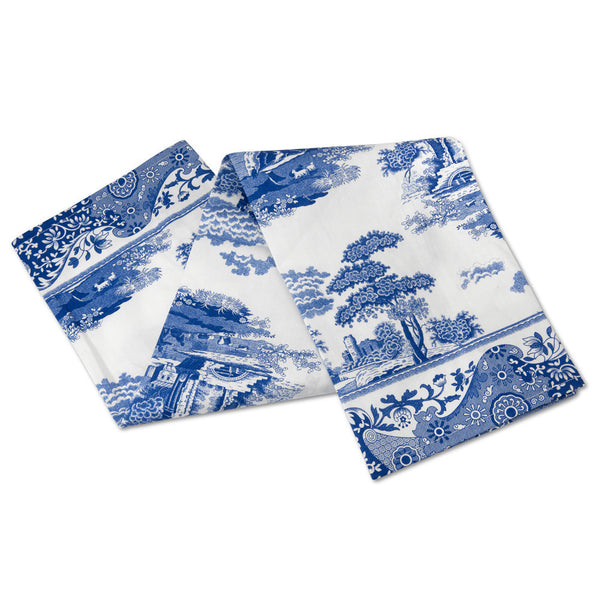 Spode Blue Italian Tea Towel 45cm by 74cm