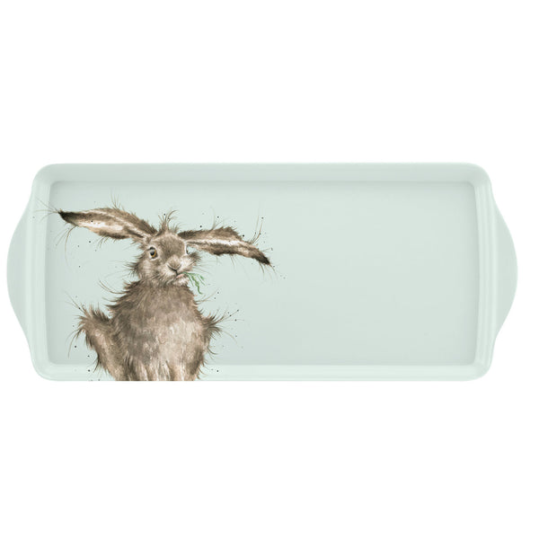 Royal Worcester Wrendale Designs Hare Sandwich Tray 38.5cm by 16.5cm