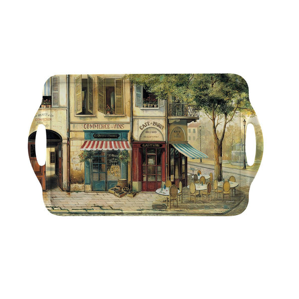 Pimpernel Parisian Scenes Large Tray 48cm by 29.5cm (with handles)