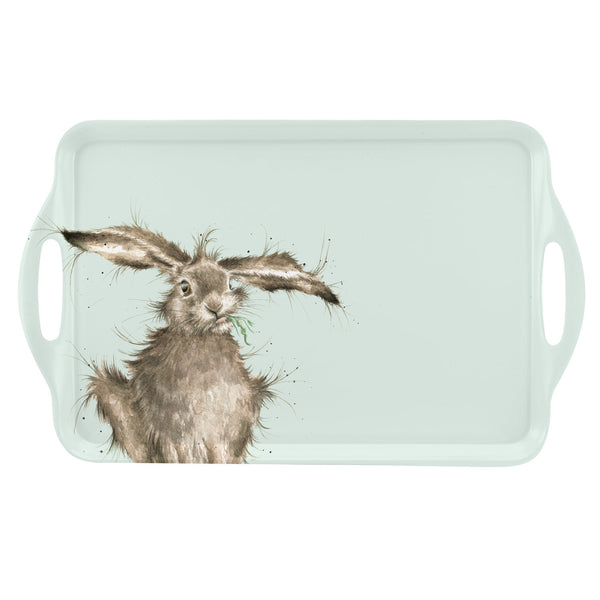 Royal Worcester Wrendale Designs Hare Large Handled Tray 48cm by 29.5cm