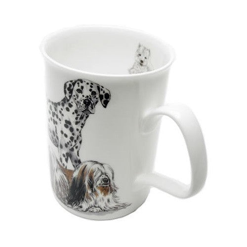 Roy Kirkham Cats Lancaster Mug with Infuser