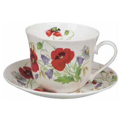 Roy Kirkham English Meadow Breakfast Cup and Saucer