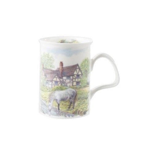 Roy Kirkham English Scene Lancaster Mug with Infuser