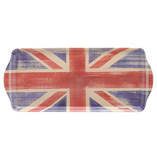 Pimpernel Union Jack Large Handled Sandwich Tray 38.5cm By 16.5cm