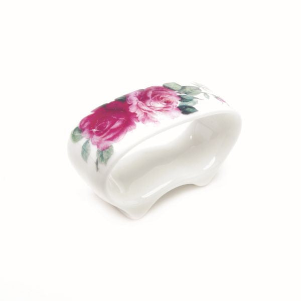 Roy Kirkham Redoute Rose Napkin Ring