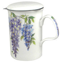 Roy Kirkham Wysteria Mug and Infuser