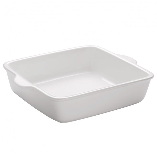 Maxwell and Williams White Basics Square Baker 19cm