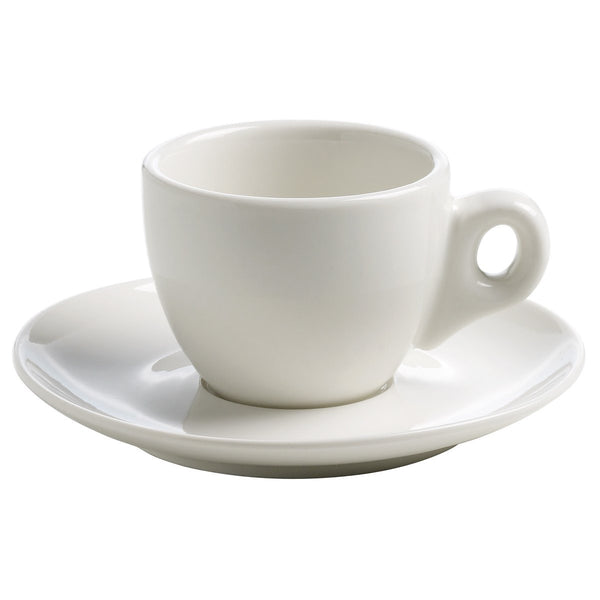Maxwell and Williams White Basics Espresso Cup and Saucer 80ml
