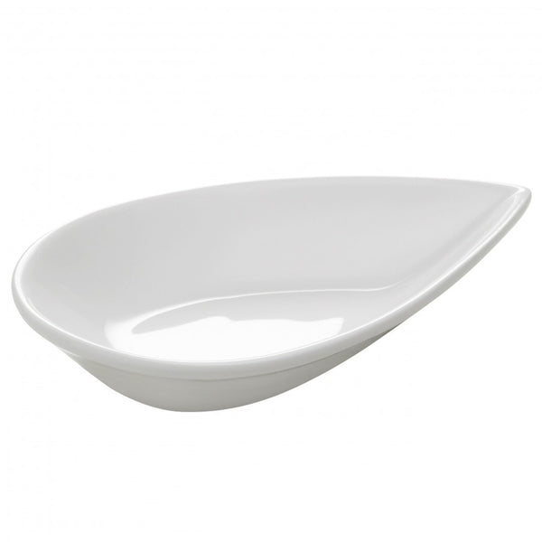 Maxwell and Williams White Basics Almond Dish 20cm by 13cm