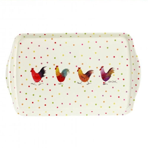 Alex Clark Rooster Melamine Tray 39cm
