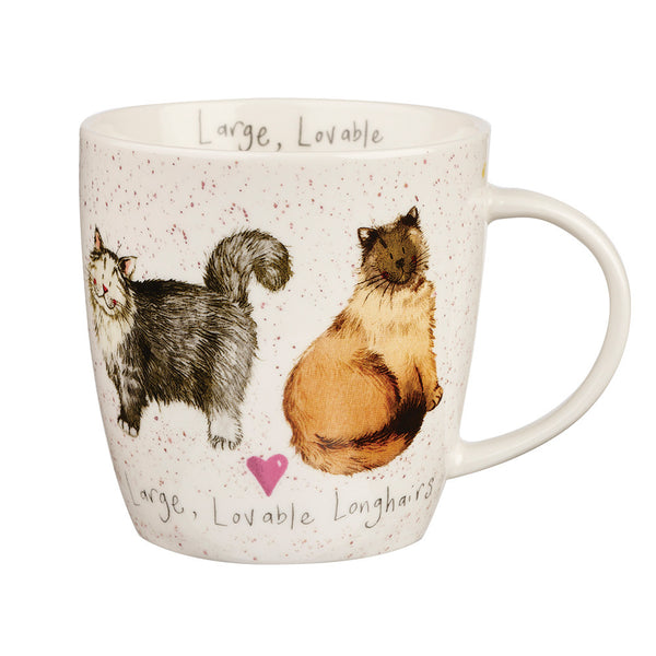 Alex Clark Loveable Longhairs Mug 0.40L