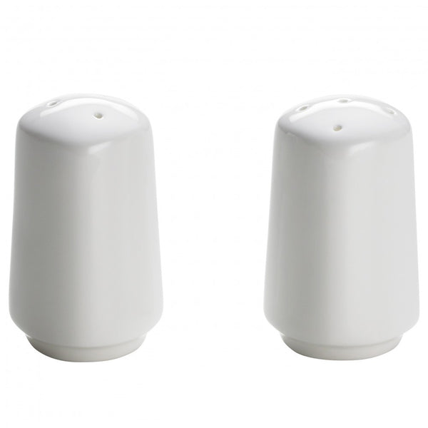 Maxwell and Williams Cashmere Bone China Square Coupe Salt and Pepper