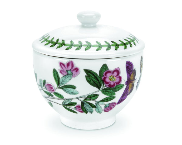Portmeirion Botanic Garden Traditional Covered Sugar Bowl 0.25L