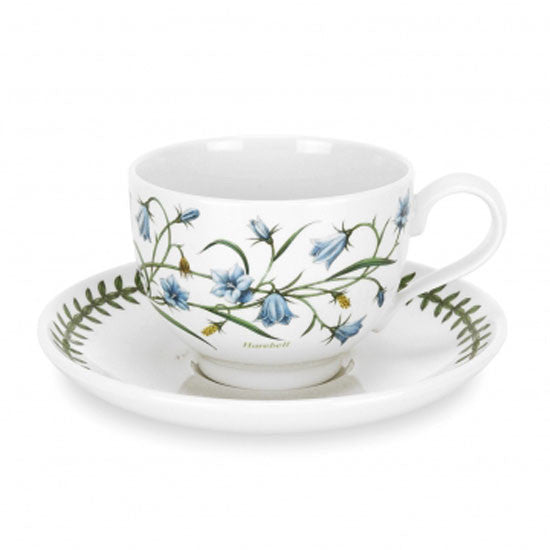 Portmeirion Botanic Garden Teacup And Saucer 3 7oz