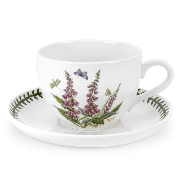 Portmeirion Botanic Garden Jumbo Cup And Saucer 20oz (Assorted Designs)