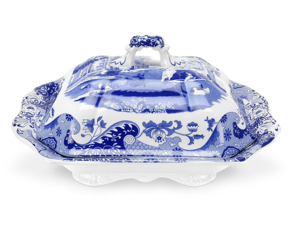 Spode Blue Italian Vegetable Dish 3.4L