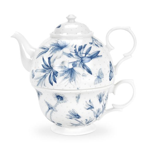 Portmeirion Botanic Blue Tea for One
