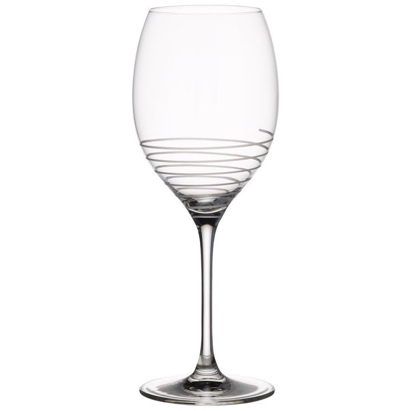 Villeroy and Boch Maxima Decorated Spiral Glass Wine Glass 252mm