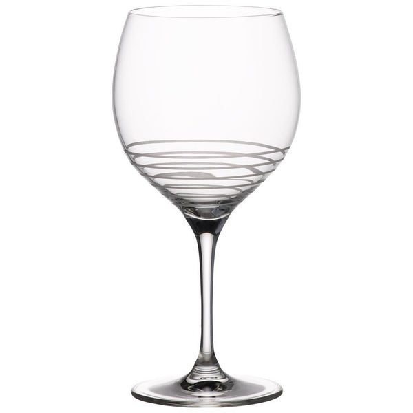 Villeroy and Boch Maxima Decorated Spiral Glass Wine Glass 225mm