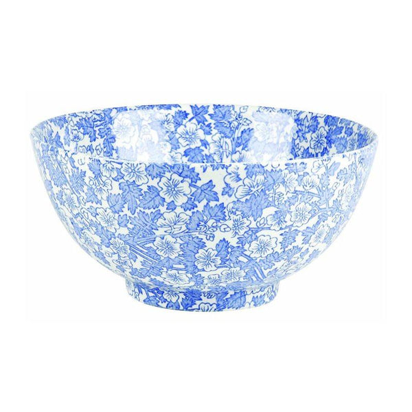 Burleigh Burgess Chintz Blue Bowl 20cm