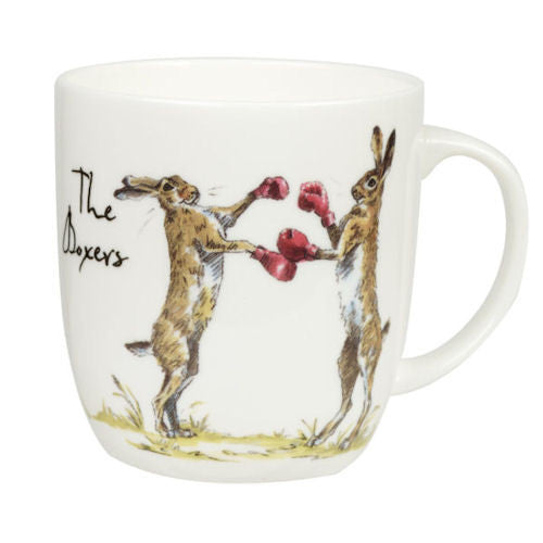 Churchill China Country Pursuits The Boxer Mug 0.35L
