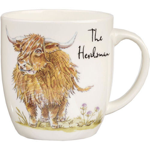 Churchill China Country Pursuits The Herdsman Mug 0.35L